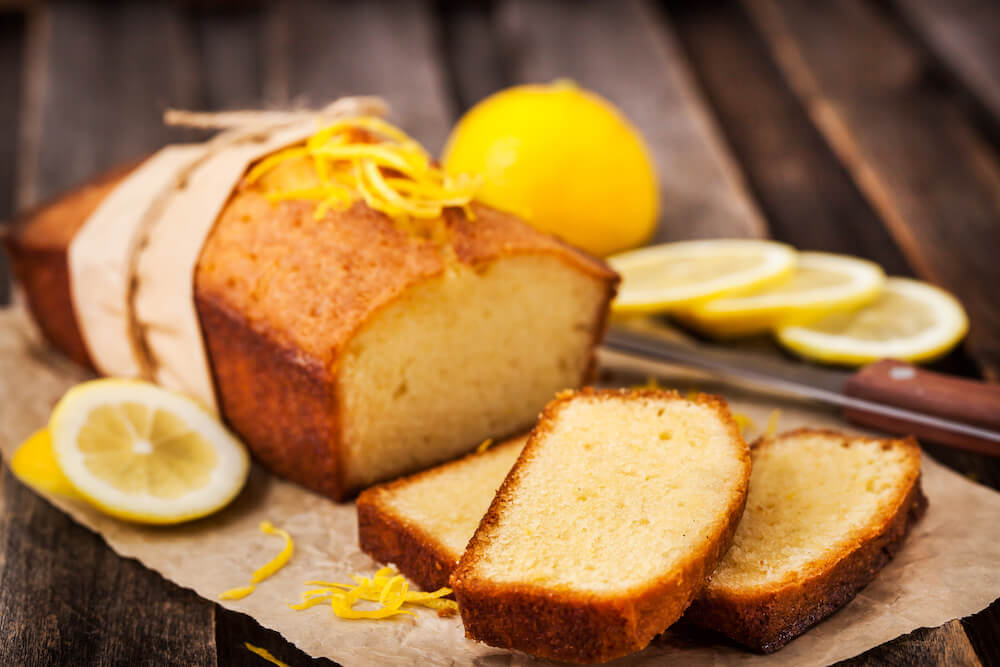 Vivo Block Margarine pound cake