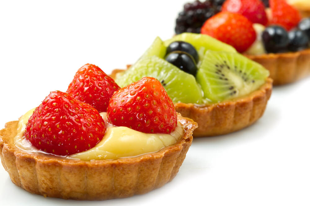 Filling Fruit tart
