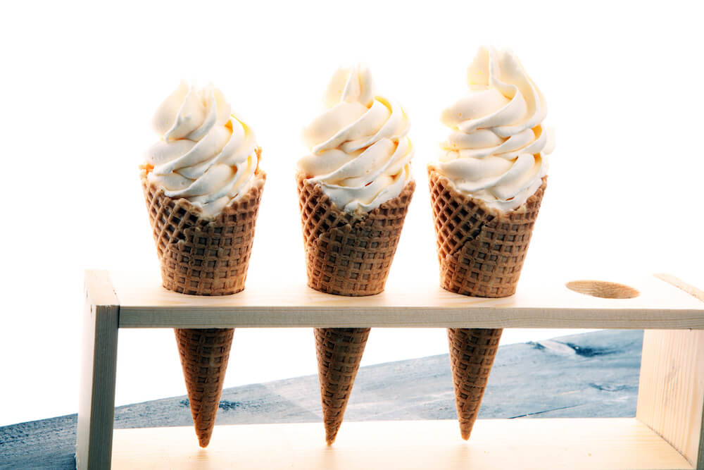 Whipping Cream & Milk Alternatives soft serve
